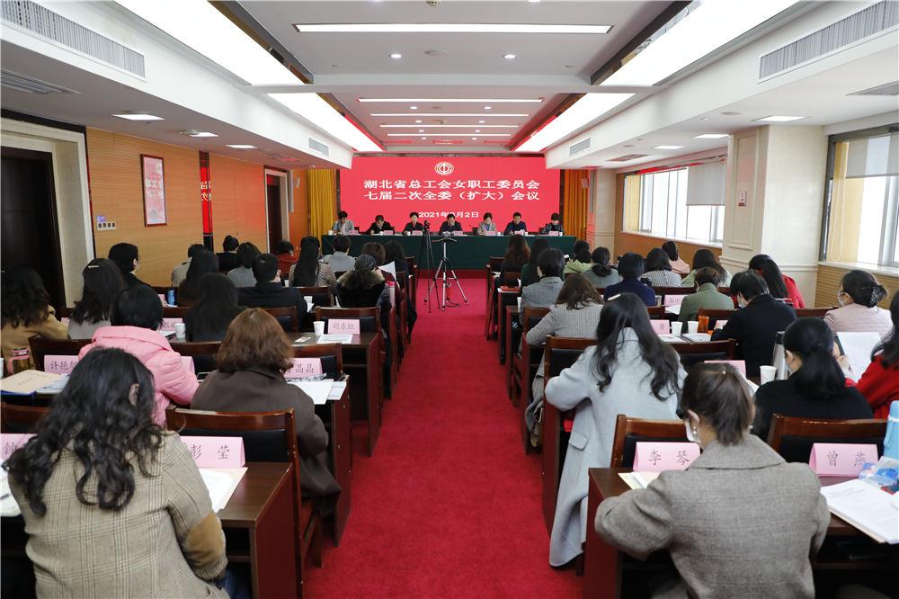 省总工会女职工委员会七届二次全委(扩大)会议召开